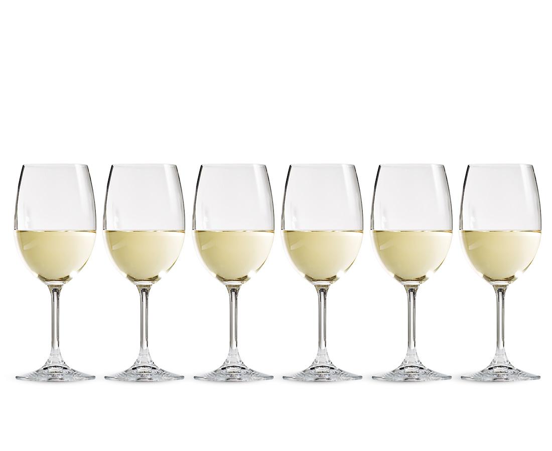Loft White Wine Glasses Set Of 6 Stokes Stores
