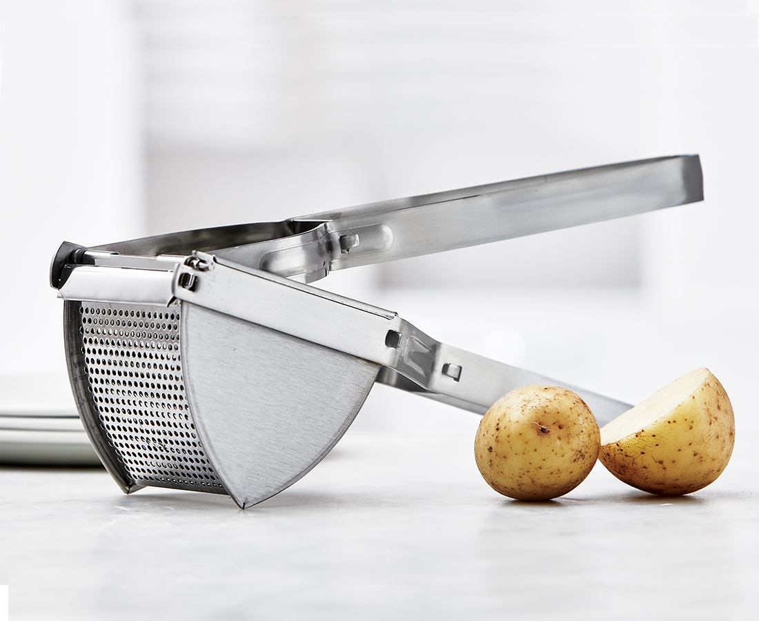 Poign/ée presse nouvelle trousse /à outils presse-pur/ée de pommes de terre en acier inoxydable